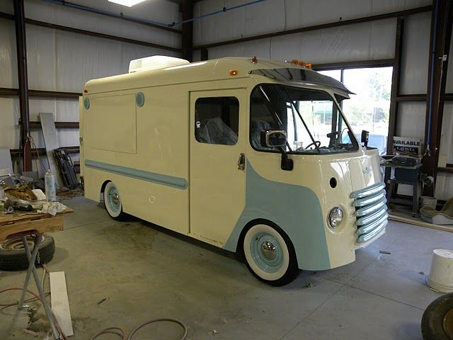 Rutledge Wood His 1949 Chevrolet Step Van Featuring A 525 Horsepower