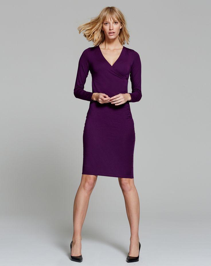 Black dress mid length bobs