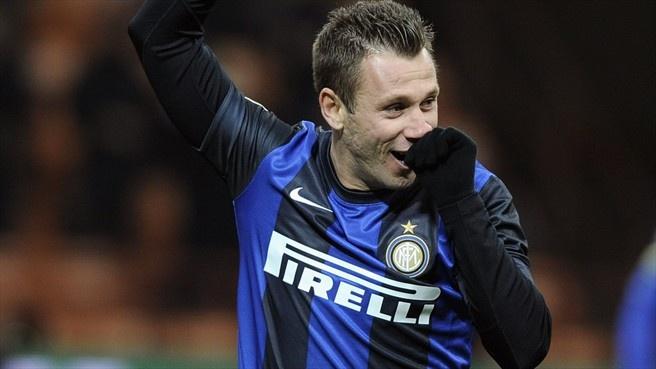 Antonio Cassano (Inter Milan) - Inter Milan vs Chievo 3-1 - Serie A 2012/2013