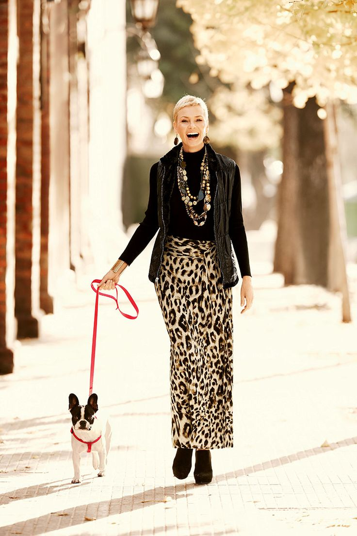 A serious crush on the maxi skirt #chicos