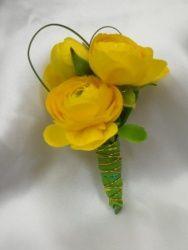 Boutonniere Yellow Ranunculus