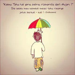 hal yang paling romantis dari hujan