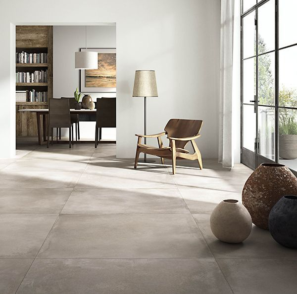 tegels: Concrete Mud 120x120 by Nuovocorso