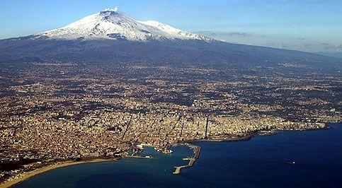Catania y el Etna