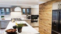 In Pictures: Daz + Dea's 'arrogant' kitchen | The Block Triple Threat | 9Jumpin