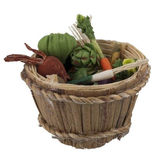 Veggies and Bushel Basket