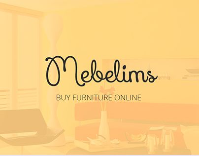 "Check out new work on my @Behance portfolio: ""Mebelims Buy furniture online""…"