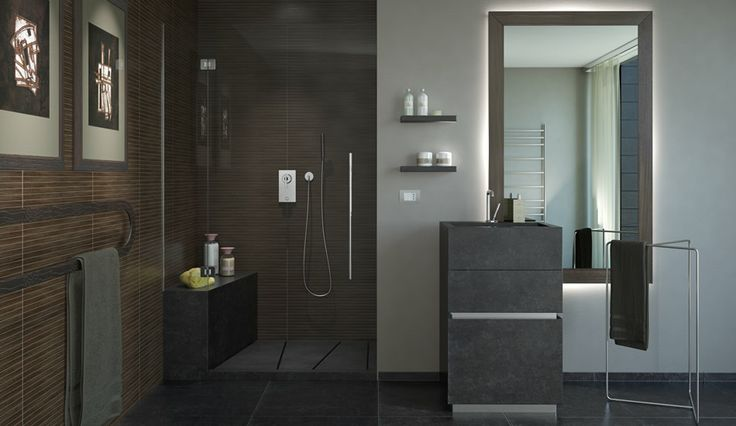 Arredamento Bagno: Kronos Tecnica propone ambienti eleganti che si distinguono per un fascino unico ed esclusivo. #arredamentobagno #kronostecnica #arredobagno
