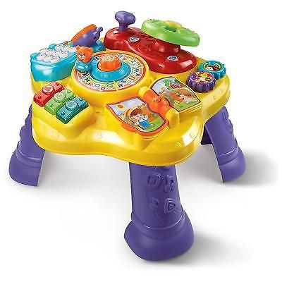 Kids Learning Table Activity Center Toddler Baby Toys Educational Music Play Fun