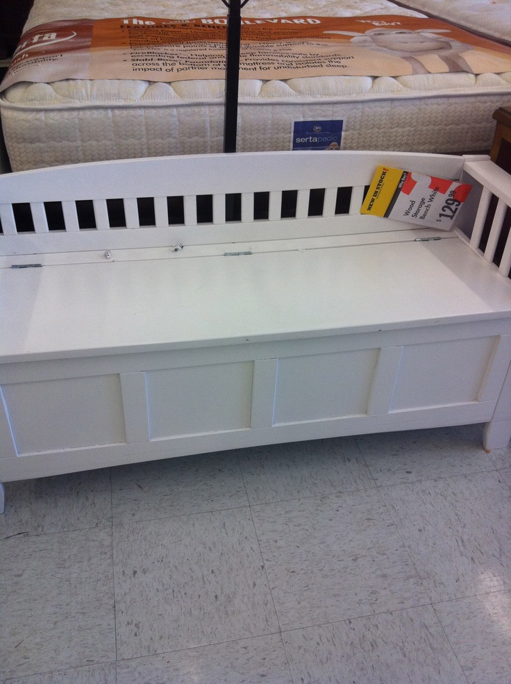 17 Best Images About End Of Bed Storage Benches In White