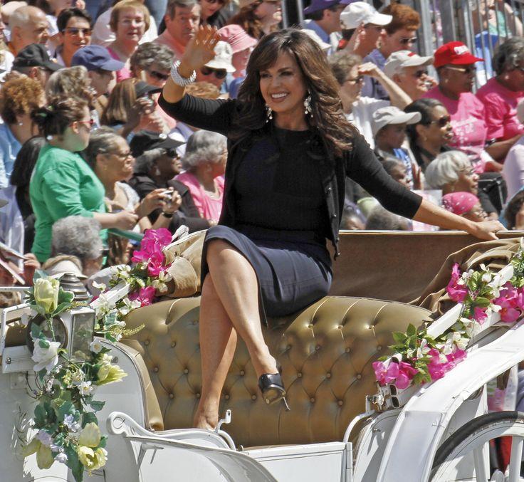 Marie Osmond at the Centennial Cherry Blossom Parade