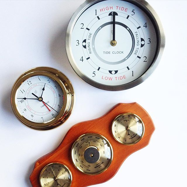 For the boatie dads out there #ahoythere #tidalclocks #fathersdaygift #instorenow