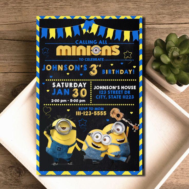 Best 25+ Minion Birthday Parties Ideas On Pinterest