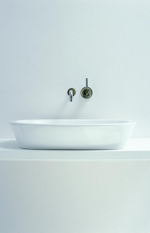 "Waschbecken ""Emani"" von Keramag, Design: Antonio Citterio Keramag in TOPFORM #top4m #Topform  www.top4m.de"