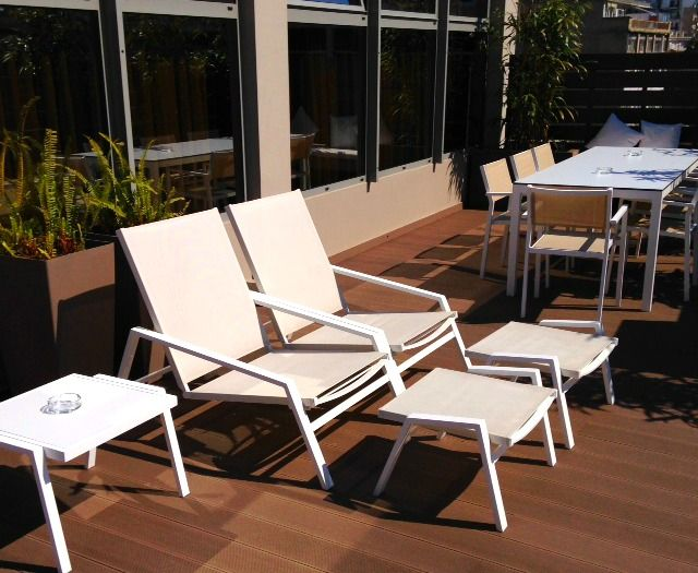 Sunbathing at our Terrace...! Take it easy !!!