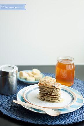 Tortitas de plátano sin gluten ¡el desayuno perfecto!