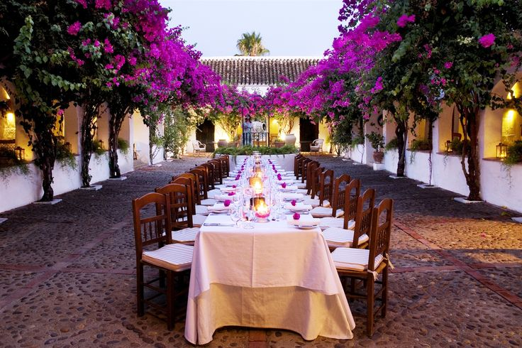 Jeanie's birthday celebration - Hacienda de San Rafael - Seville - Spain  so fabulous!