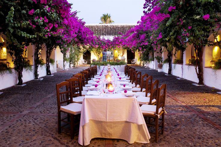 Jeanie's birthday celebration - Hacienda de San Rafael - Seville - Spain  so fabulous!