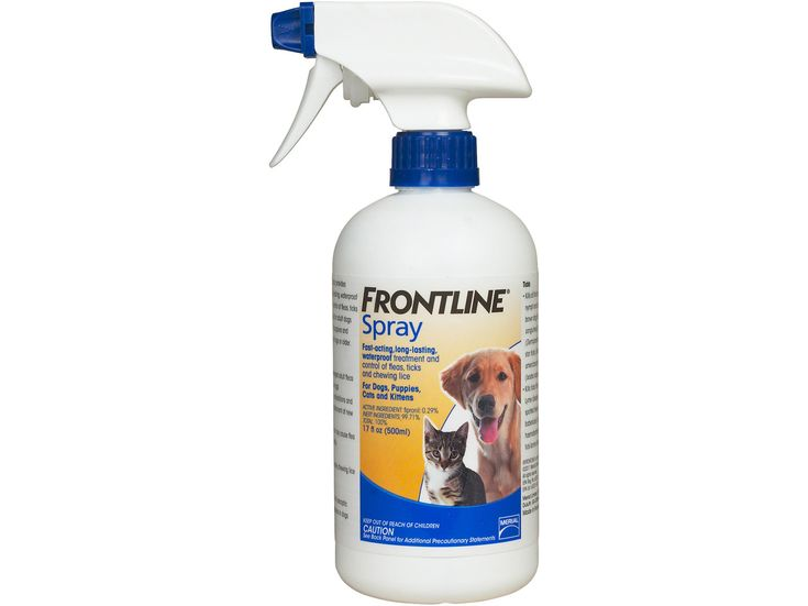Frontline Spray Treatment for Dogs and Cats 500 ml #CatSprayingProducts