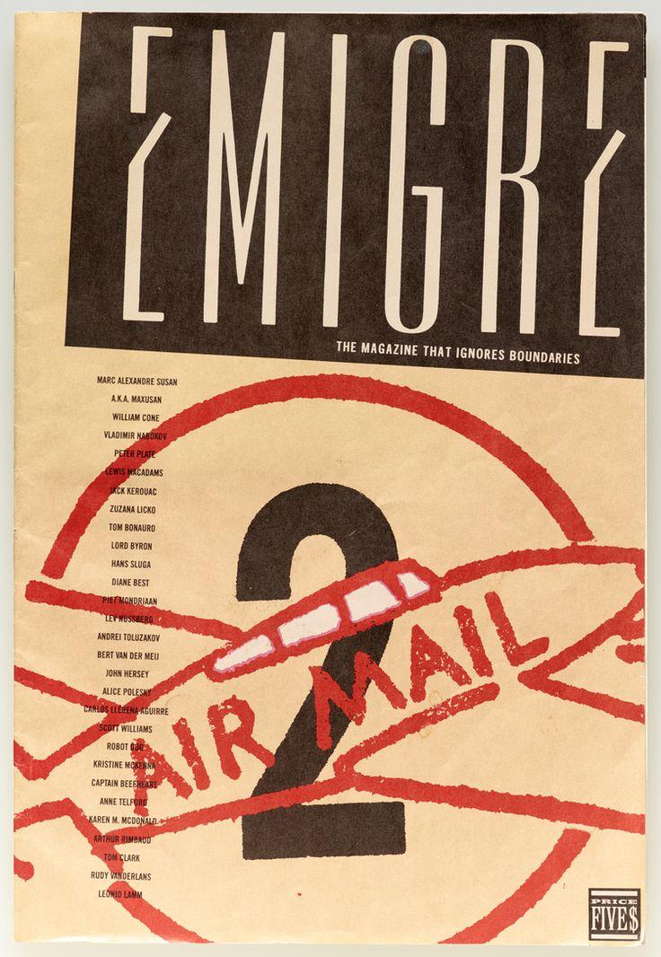 Emigre magazine #2, 1984