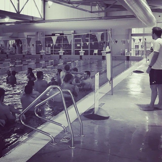 Unanderra Physiotherapy & Pilates: Illawarriors NSW Country State Champs: Post match recovery pool session.