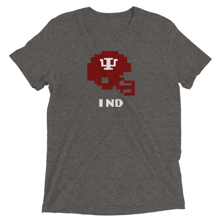 Indiana Hoosiers Tecmo Bowl Shirt Triblend shirts