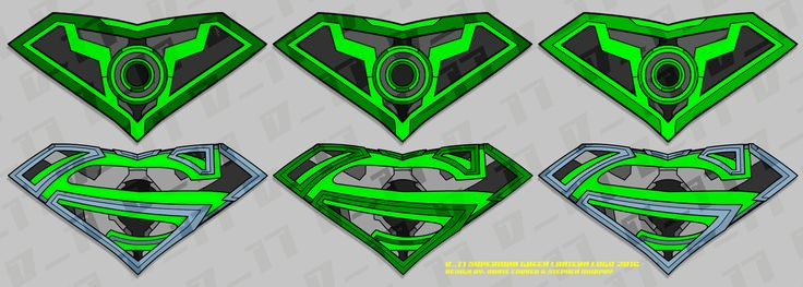 D17 Superman/Green Lantern Variations Logo01 2016: An update on the D17 Superman/Green Lantern (using Red Lantern motif) logo using various color swatches ranging from neon green to dark gray. #2d #d17 #japan #logo #photoshop #redlantern #superman #tokyo #stephenmurphy #dantecarver #greenlantern #colorvariations