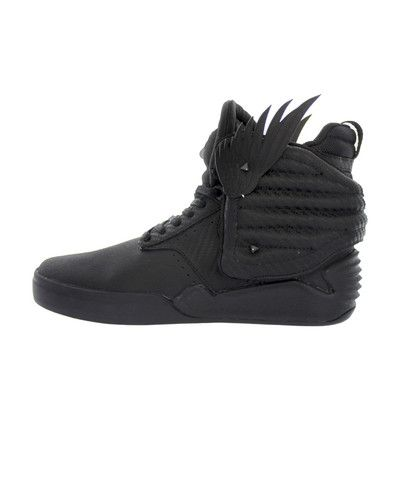"Supra Footwear: Skytop IV ""District 13"" (Black)"