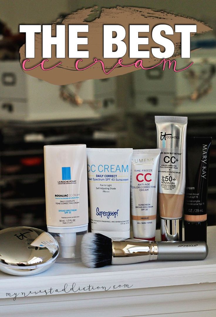 The Best CC Cream!  This is what I consider to be the best CC Creams on the market!