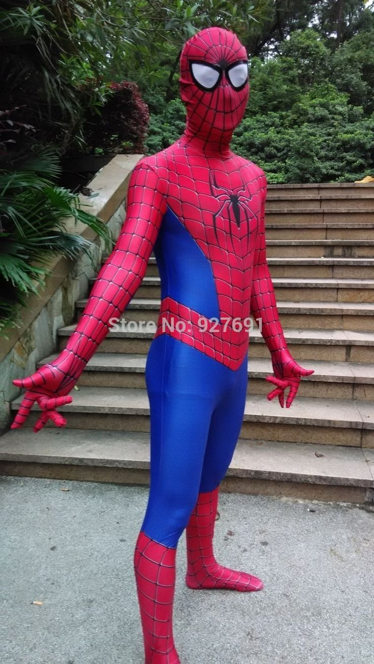 Superhero NEW Spiderman Costume Spider Man Suit Spider-man Costumes Adults Children Spider-Man Cosplay Superhero Clothing