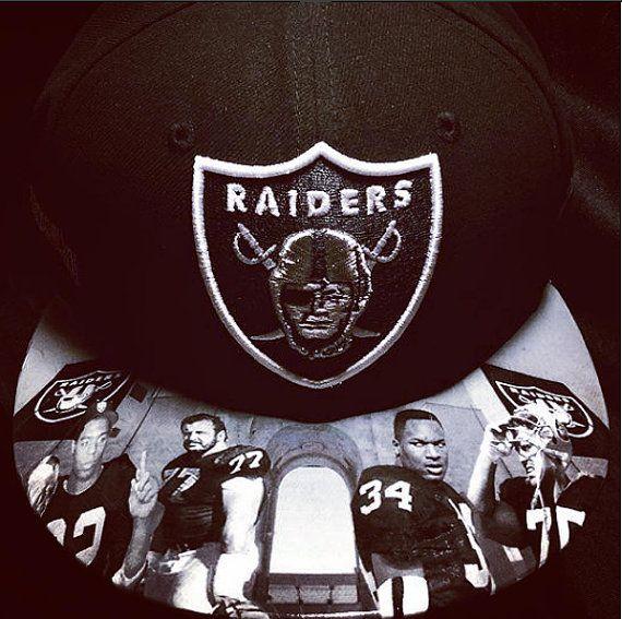 Oakland Raiders authentic New Era hat by UrbanScholarApparel