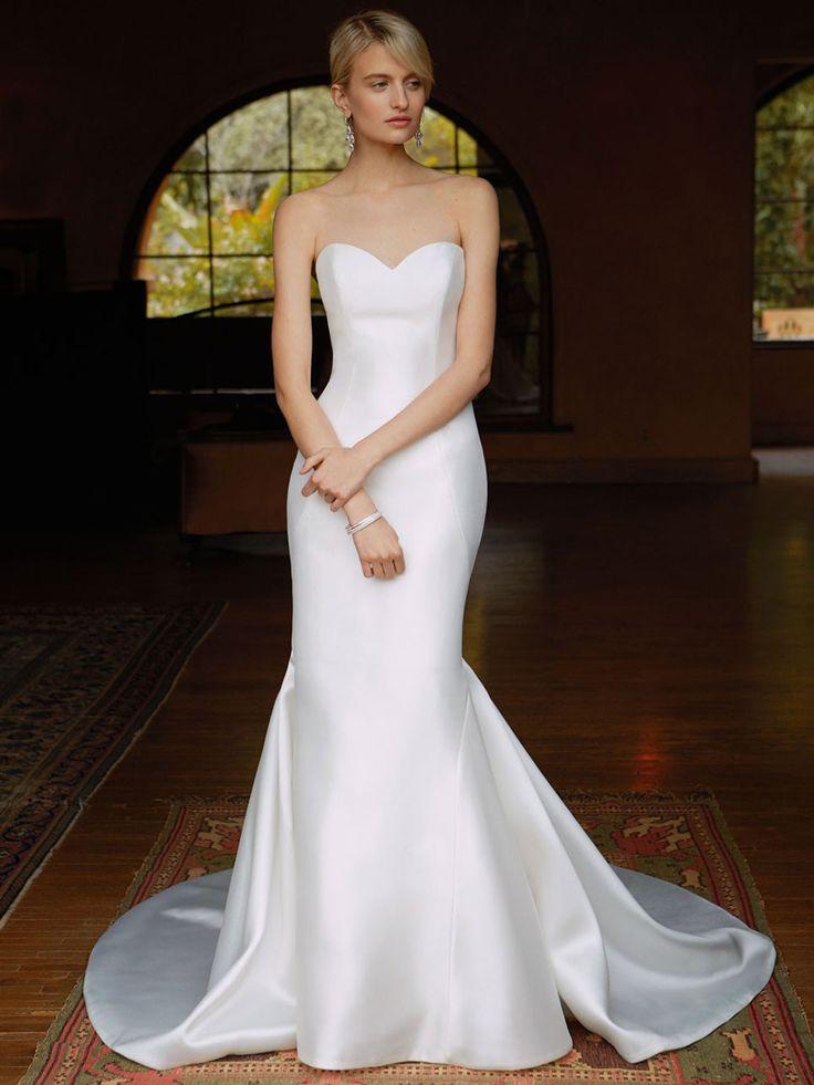 Beautiful 2016, BT16-29 front view - Enzoani 2016 Wedding Dresses | itakeyou.co.uk #weddinggown #bridal #wedding