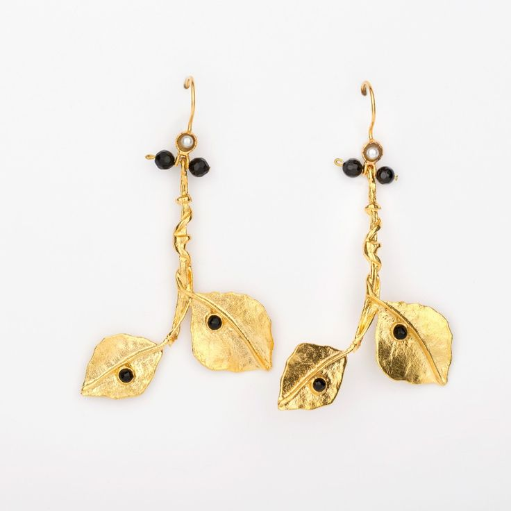Afterlife Earrings - Gold Plated