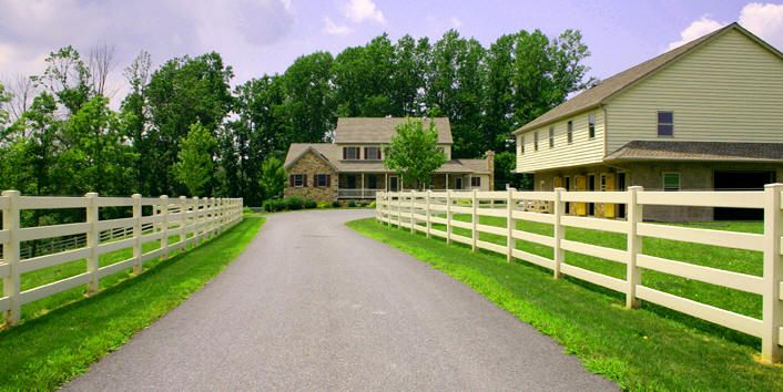 Heavy Duty Pvc Horse Fence And Pvc Ranch Fence Systems