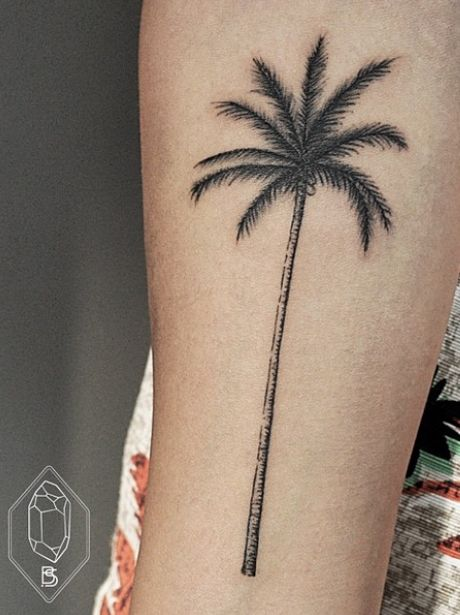 palm tree tattoo - Buscar con Google