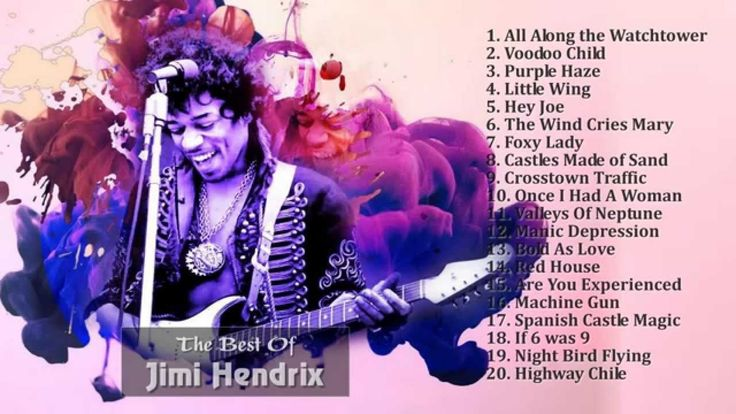 Jimi Hendrix Greatest Hits (Full Album) - The Best Of Jimi Hendrix