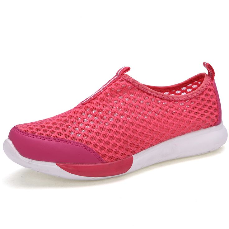 2017 New Summer Women Sneakers Walking Shoes Pink Ladies Gym Shoes Slip on Girls Athletic Sneakers Summer Women Shoes Cheap #Affiliate