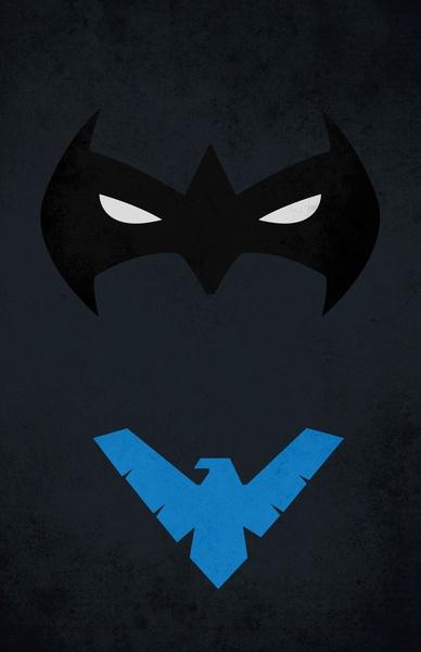 Nightwing Art Print: Nightwing Art, Superhero Posters, Nightwing Richard, Art Prints, Superheroes Supervillians, Dc Marvel, Robin Nightwing, Super Heroes, Superheroes Nerd