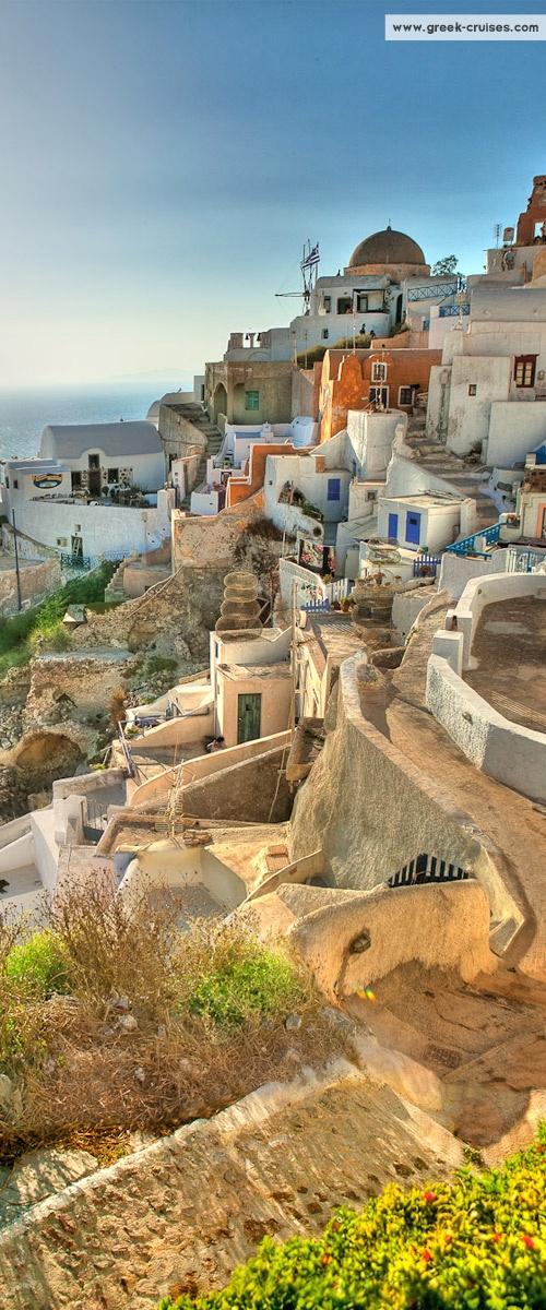 Santorini, Greece Visti #Santorini with www.greek-cruises.com