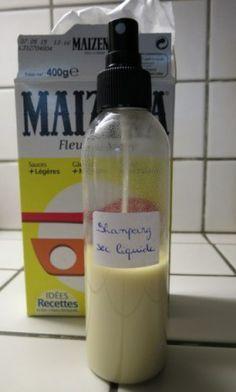 Un shampoing sec fait maison, version liquide