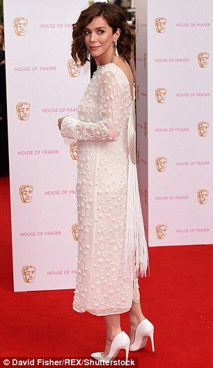 Glamorous actress Anna Friel filled an entire truck with surplus designer clothes and gave them to charity, The Mail on Sunday can disclose