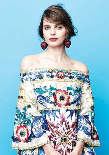 Dolce&Gabbana Alta Moda, Vogue Mexico May 2015