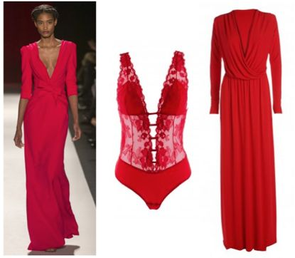 red hot dresses