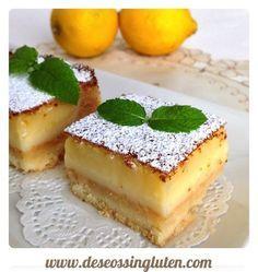 Deseos Sin Gluten: PASTELITOS DE LIMON SIN GLUTEN