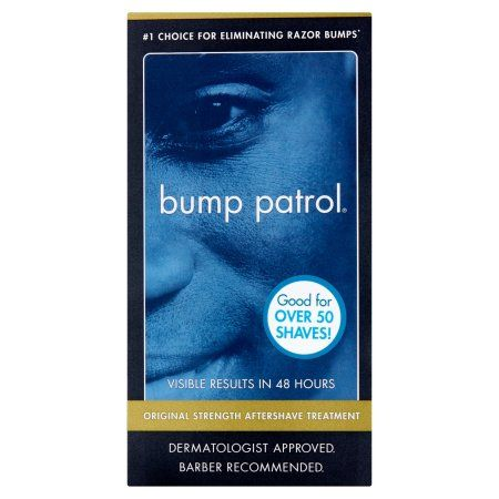 Bump Patrol Original Formula Aftershave Razor Bump Treatment, Multicolor
