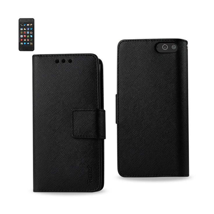 REIKO AMAZON FIRE PHONE 3-IN-1 WALLET CASE BLACK | MaxStrata