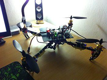 Quadcopter + RaspberryPi