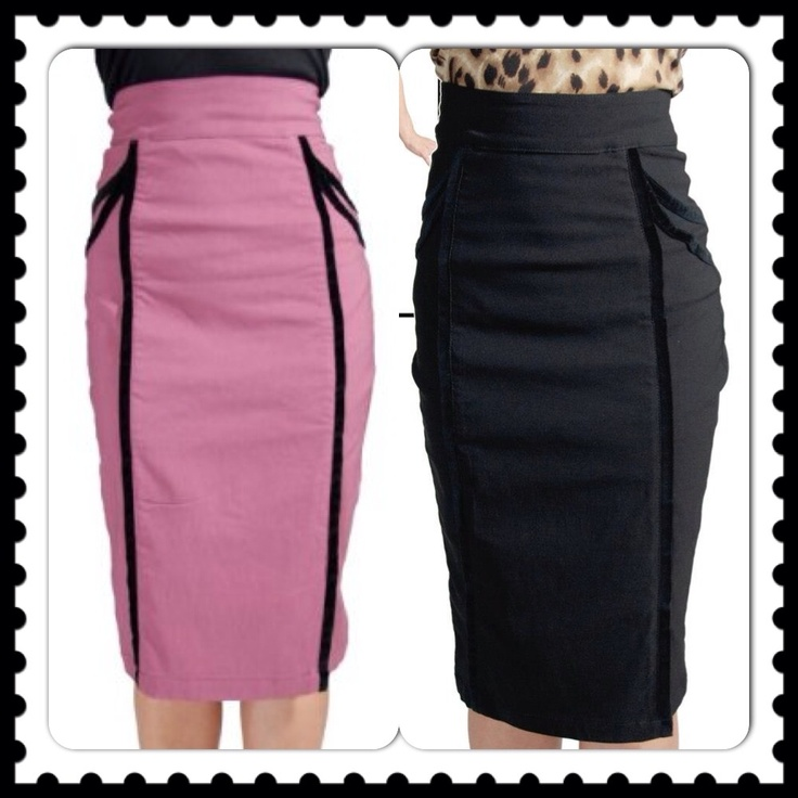 Pin-up Velvet Trim High Waist Skirt ~ Steady Clothing AU$66.99