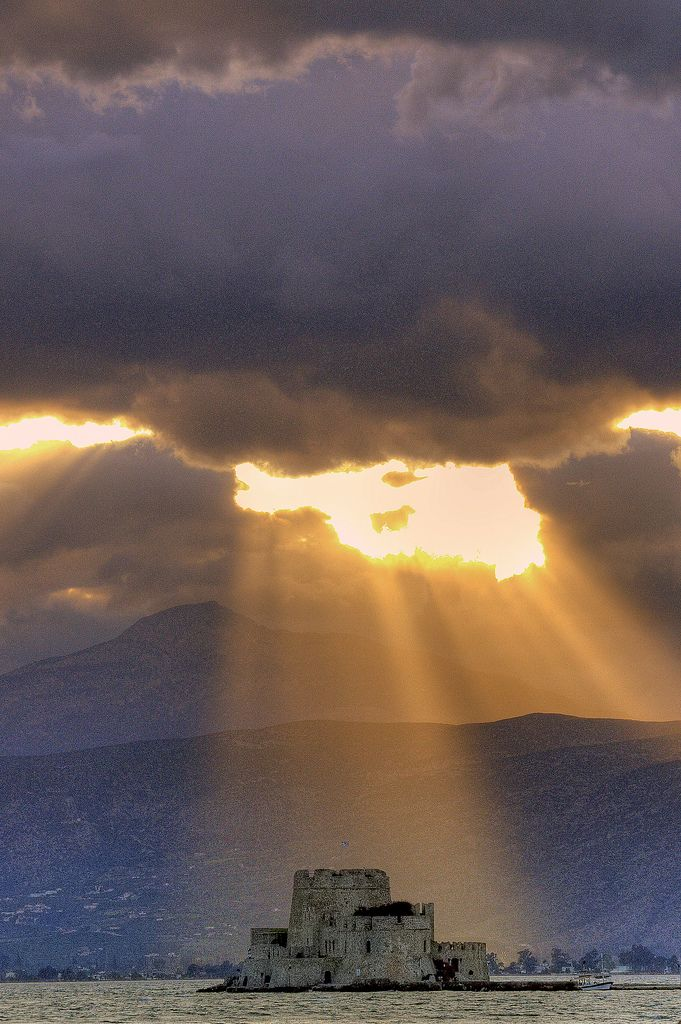Sunbeam in Nafplion_ Greece