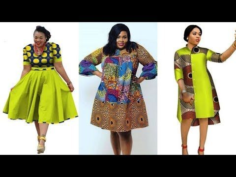 4e3bf312ba4 2018 STYLISHLY  AFRICAN PRINT DRESSES FOR PLUS SIZE LADIES  BEST ANKARA  INFINITY AFRICAN DRESSES - YouTube